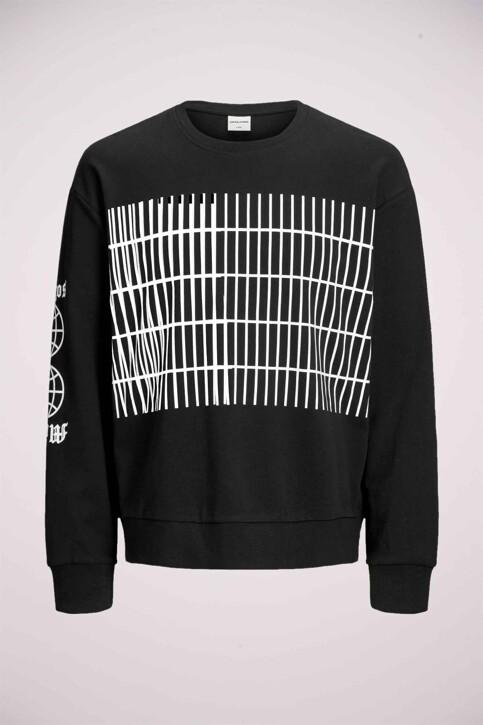 CORE BY JACK & JONES Sweaters met ronde hals zwart 12166013_BLACK img7