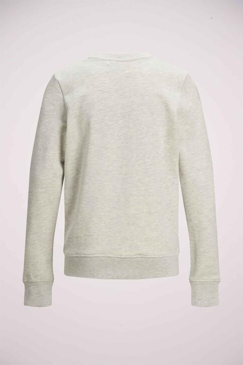 JACK & JONES KIDS Sweaters met O-hals wit 12171736_WHITE MELANGE img8