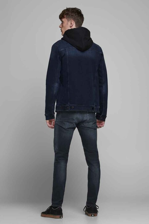 JACK & JONES JEANS INTELLIGENC Jeans slim denim 12175893_BLUE DENIM img3