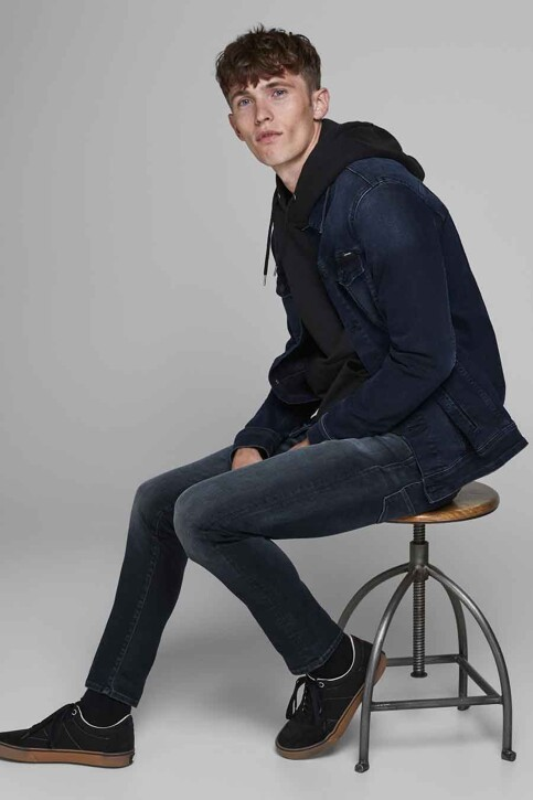 JACK & JONES JEANS INTELLIGENC Jeans slim denim 12175893_BLUE DENIM img6