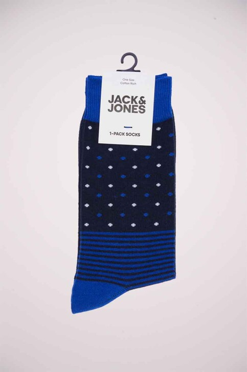 ACCESSORIES BY JACK & JONES Sokken blauw 12176183_SURF THE WEB img2