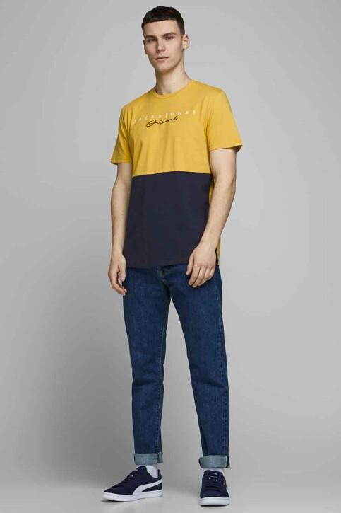 ORIGINALS BY JACK & JONES T-shirts (manches courtes) jaune 12176731_SPICY MUSTARD R img2