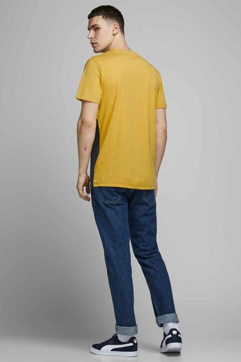 ORIGINALS BY JACK & JONES T-shirts (manches courtes) jaune 12176731_SPICY MUSTARD R img3