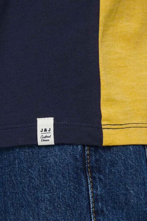 ORIGINALS BY JACK & JONES T-shirts (manches courtes) jaune 12176731_SPICY MUSTARD R img4