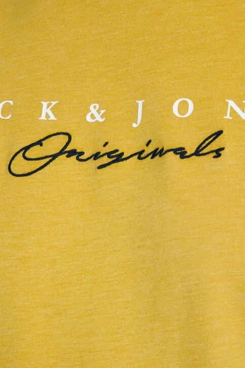 ORIGINALS BY JACK & JONES T-shirts (manches courtes) jaune 12176731_SPICY MUSTARD R img5