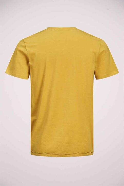 ORIGINALS BY JACK & JONES T-shirts (manches courtes) jaune 12176731_SPICY MUSTARD R img7