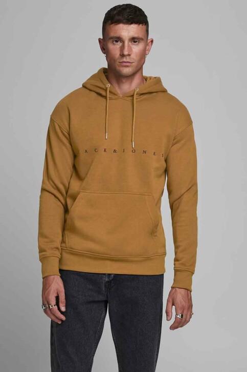 ORIGINALS BY JACK & JONES Sweaters met kap bruin 12176864_RUBBER RELAXEDS img1