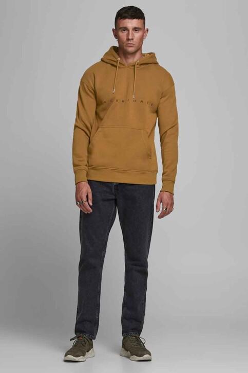 ORIGINALS BY JACK & JONES Sweaters met kap bruin 12176864_RUBBER RELAXEDS img2