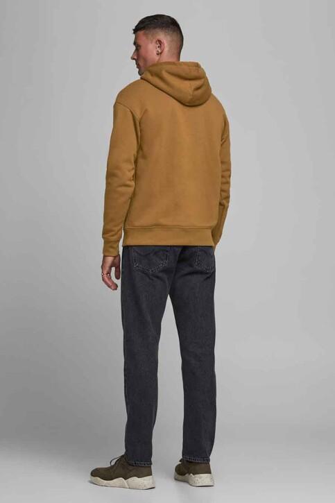 ORIGINALS BY JACK & JONES Sweaters met kap bruin 12176864_RUBBER RELAXEDS img3