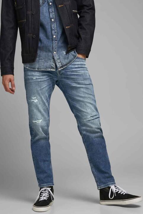 JACK & JONES JEANS INTELLIGENCE Jeans tapered denim 12177435_JOS 986 MED BLU img1