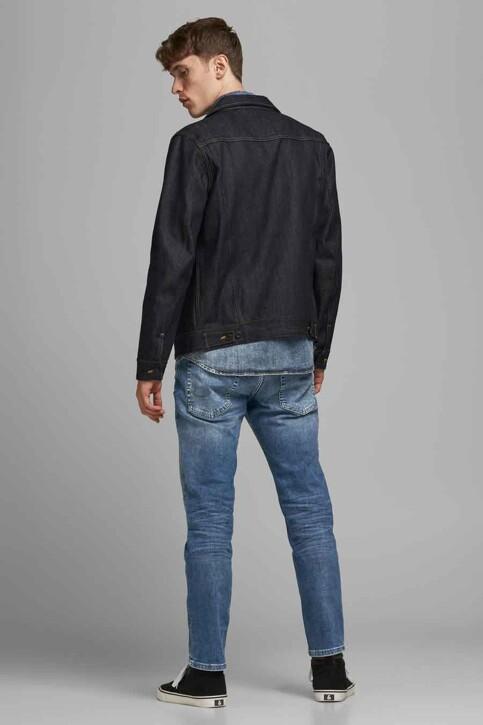 JACK & JONES JEANS INTELLIGENCE Jeans tapered denim 12177435_JOS 986 MED BLU img3