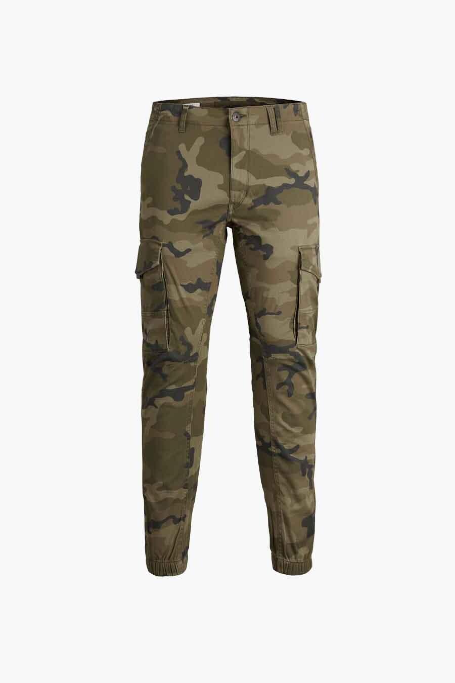 Jack & Jones Jeans Intelligence Broek, Olive, Heren, Maat: 29x32