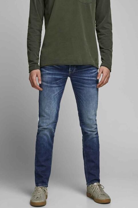 JACK & JONES JEANS INTELLIGENCE Jeans tapered denim 12178859_JOS2036 MID BLU img1