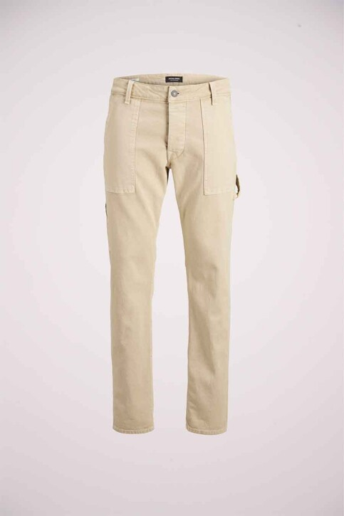 JACK & JONES JEANS INTELLIGENCE Jeans tapered KHAKI 12180815_AGI054 KHAKI img4