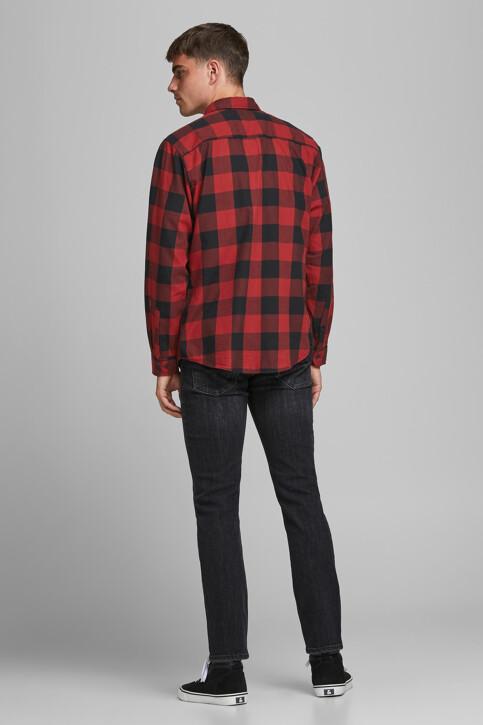 CORE BY JACK & JONES Hemden (lange mouwen) rood 12181602_BRICK RED SLIM img2