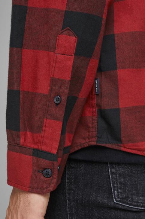 CORE BY JACK & JONES Hemden (lange mouwen) rood 12181602_BRICK RED SLIM img4