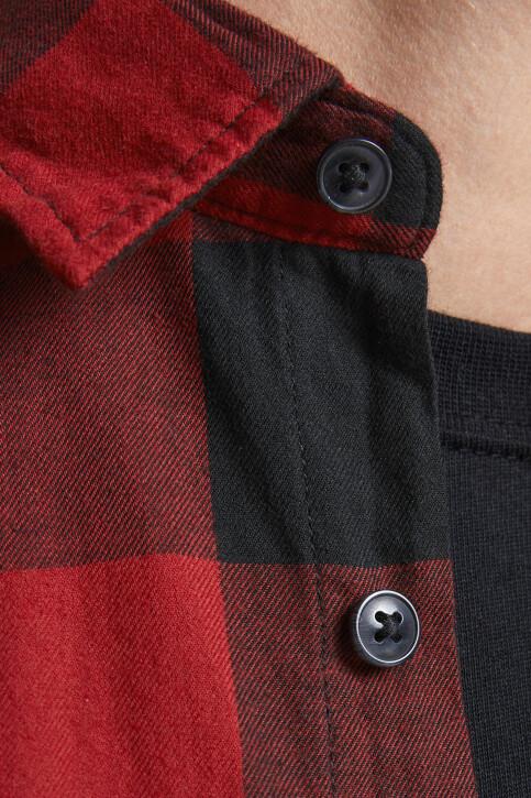 CORE BY JACK & JONES Hemden (lange mouwen) rood 12181602_BRICK RED SLIM img5
