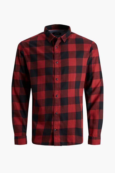 CORE BY JACK & JONES Hemden (lange mouwen) rood 12181602_BRICK RED SLIM img6