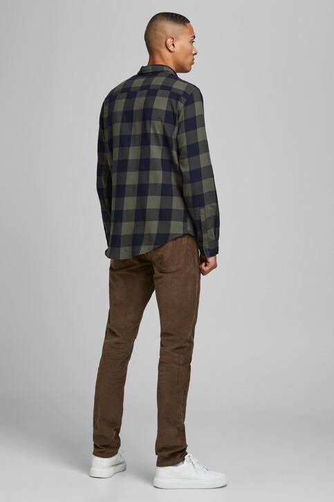 CORE BY JACK & JONES Hemden (lange mouwen) groen 12181602_DUSTY OLIVE SLI img2