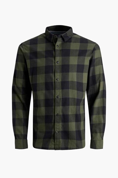 CORE BY JACK & JONES Hemden (lange mouwen) groen 12181602_DUSTY OLIVE SLI img7