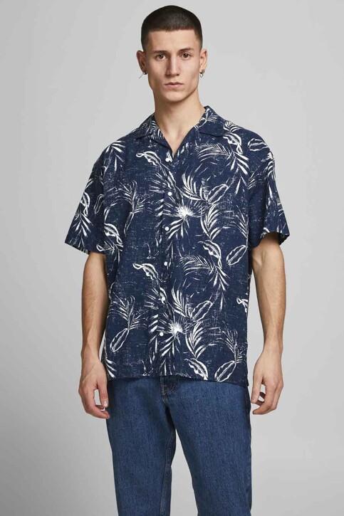 ORIGINALS BY JACK & JONES Hemden (korte mouwen) blauw 12182753_NAVY BLAZER img1