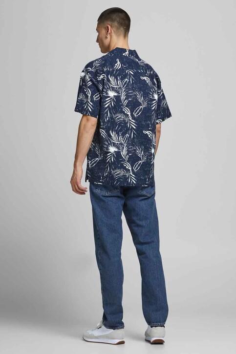 ORIGINALS BY JACK & JONES Hemden (korte mouwen) blauw 12182753_NAVY BLAZER img2