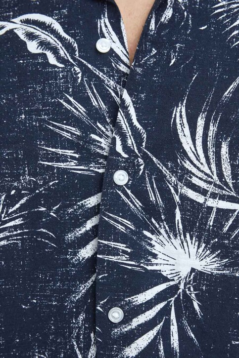 ORIGINALS BY JACK & JONES Hemden (korte mouwen) blauw 12182753_NAVY BLAZER img4