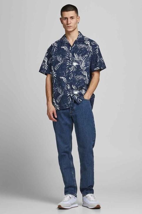 ORIGINALS BY JACK & JONES Hemden (korte mouwen) blauw 12182753_NAVY BLAZER img5