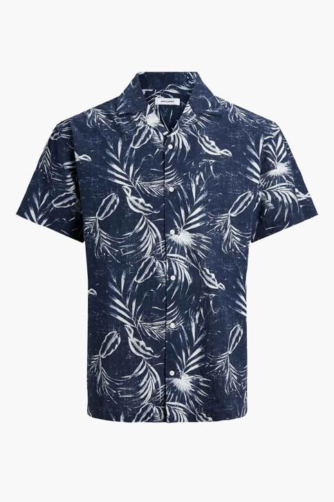 ORIGINALS BY JACK & JONES Hemden (korte mouwen) blauw 12182753_NAVY BLAZER img7