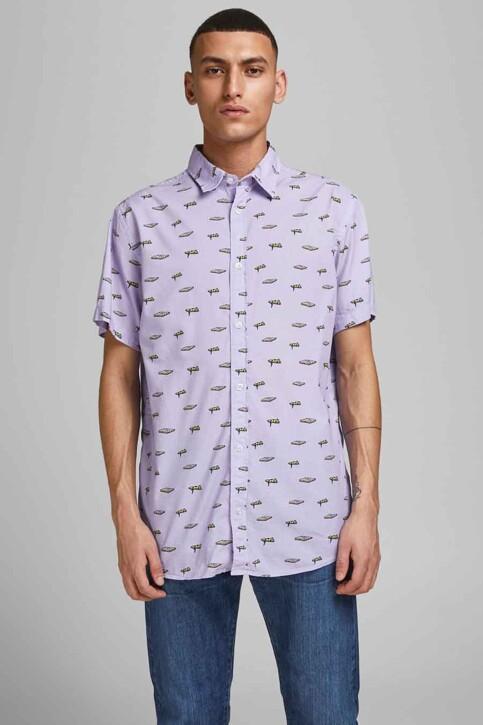 ORIGINALS BY JACK & JONES Hemden (korte mouwen) blauw 12183573_LAVENDER COMFOR img2