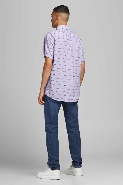 ORIGINALS BY JACK & JONES Hemden (korte mouwen) blauw 12183573_LAVENDER COMFOR img3