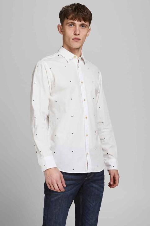ORIGINALS BY JACK & JONES Hemden (lange mouwen) wit 12183603_CLOUD DANCER SL img1