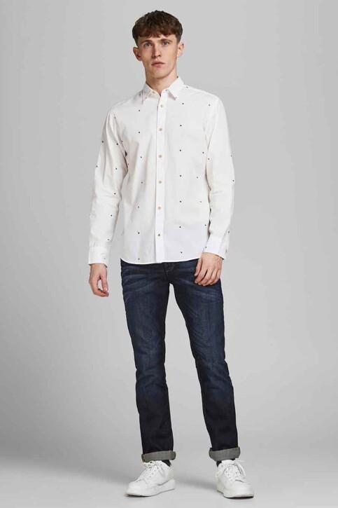 ORIGINALS BY JACK & JONES Hemden (lange mouwen) wit 12183603_CLOUD DANCER SL img2