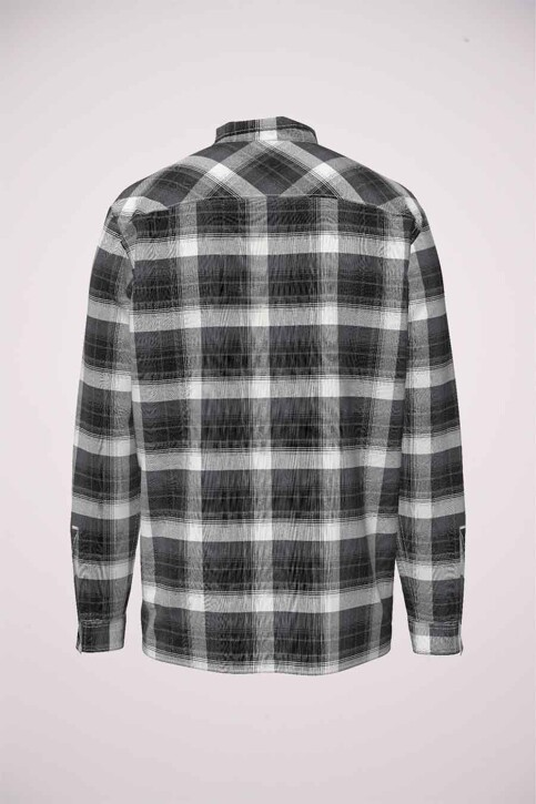 ORIGINALS BY JACK & JONES Chemises (manches longues) noir 12183608_TAP SHOE COMFOR img8