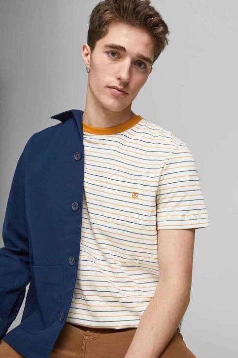 PREMIUM BLUE by JACK & JONES T-shirts (korte mouwen) wit 12183643_WHISPER WHITE R img2