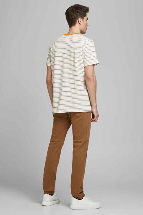 PREMIUM BLUE by JACK & JONES T-shirts (korte mouwen) wit 12183643_WHISPER WHITE R img3