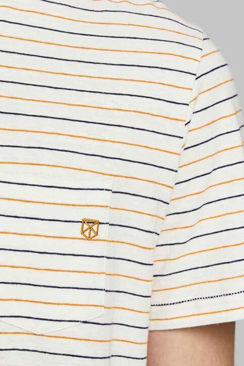 PREMIUM BLUE by JACK & JONES T-shirts (korte mouwen) wit 12183643_WHISPER WHITE R img4