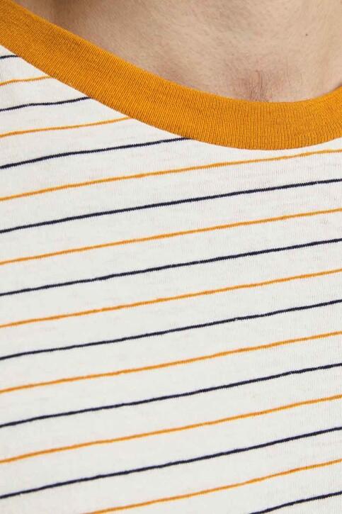 PREMIUM BLUE by JACK & JONES T-shirts (korte mouwen) wit 12183643_WHISPER WHITE R img5