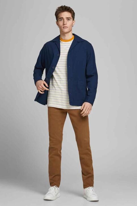 PREMIUM BLUE by JACK & JONES T-shirts (korte mouwen) wit 12183643_WHISPER WHITE R img6