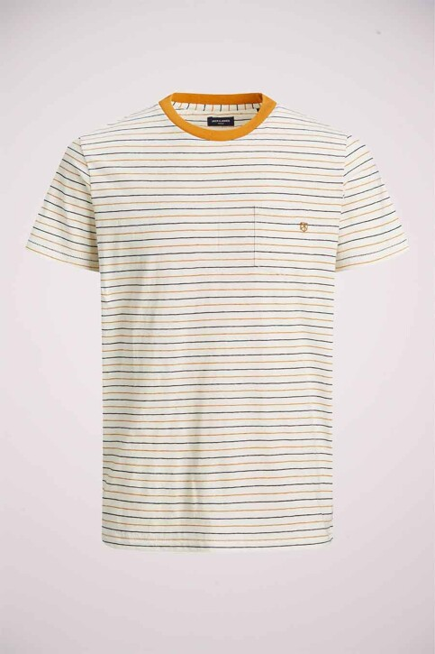 PREMIUM BLUE by JACK & JONES T-shirts (korte mouwen) wit 12183643_WHISPER WHITE R img7