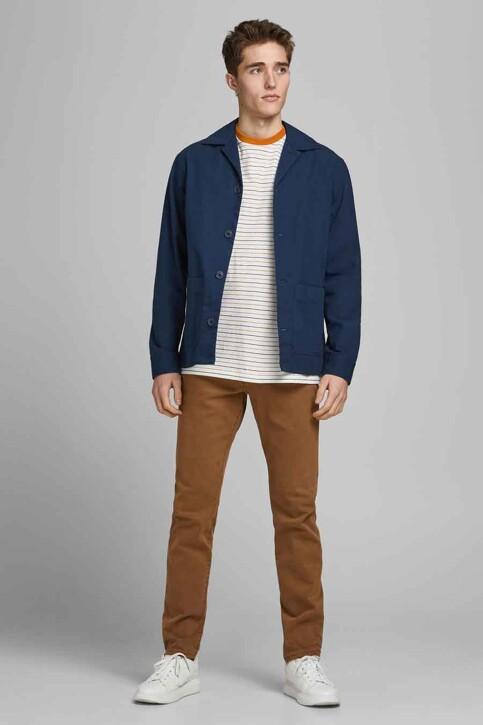 PREMIUM BLUE by JACK & JONES Hemden (lange mouwen) groen 12183754_PEACOAT COMFORT img1