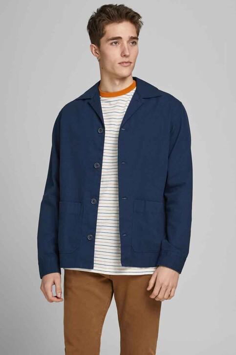 PREMIUM BLUE by JACK & JONES Hemden (lange mouwen) groen 12183754_PEACOAT COMFORT img2