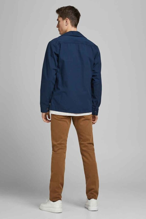 PREMIUM BLUE by JACK & JONES Hemden (lange mouwen) groen 12183754_PEACOAT COMFORT img3