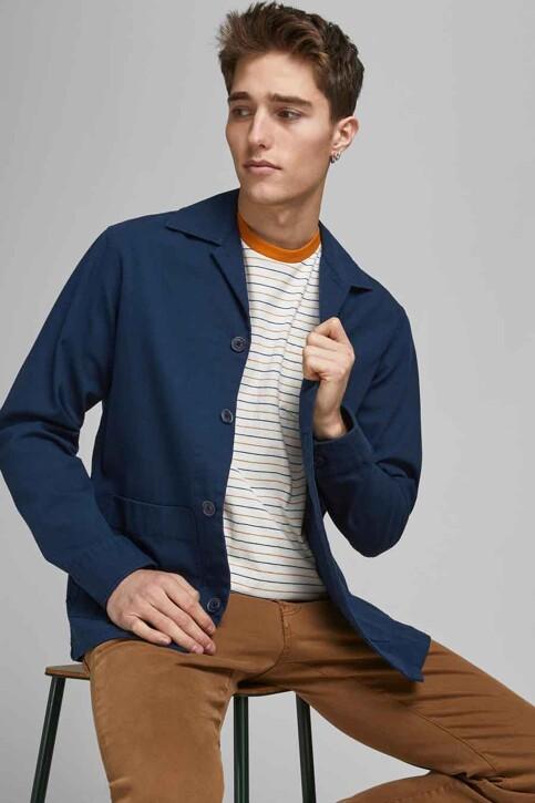 PREMIUM BLUE by JACK & JONES Hemden (lange mouwen) groen 12183754_PEACOAT COMFORT img6