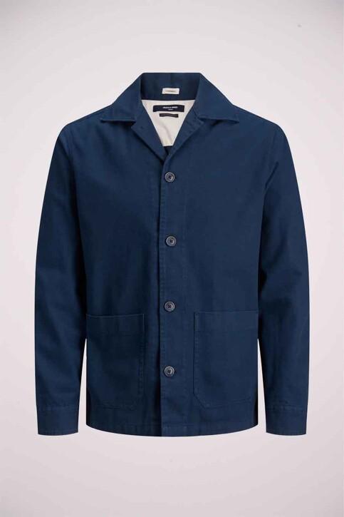 PREMIUM BLUE by JACK & JONES Hemden (lange mouwen) groen 12183754_PEACOAT COMFORT img7
