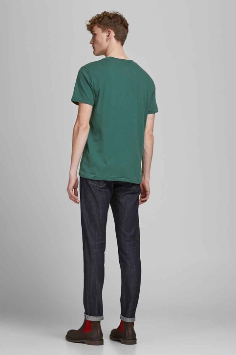 PREMIUM BLUE by JACK & JONES T-shirts (korte mouwen) groen 12183774_BISTRO GREEN RE img2