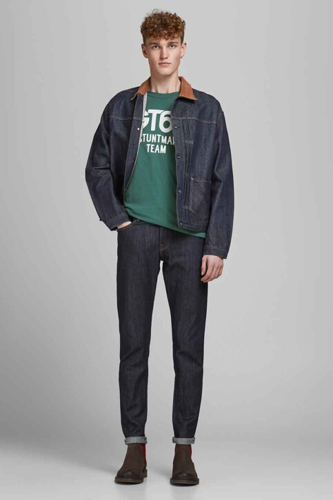 PREMIUM BLUE by JACK & JONES T-shirts (korte mouwen) groen 12183774_BISTRO GREEN RE img5
