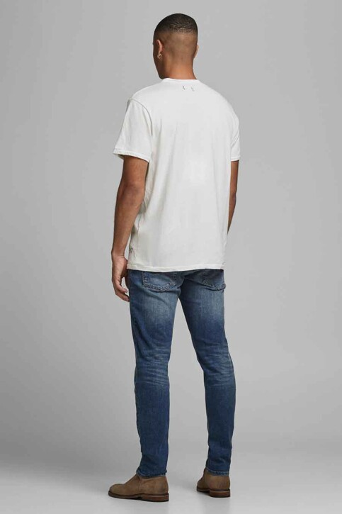 PREMIUM BLUE by JACK & JONES T-shirts (korte mouwen) wit 12183774_CLOUD DANCER RE img2