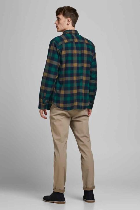 ORIGINALS BY JACK & JONES Hemden (lange mouwen) grijs 12183842_RUBBER img3