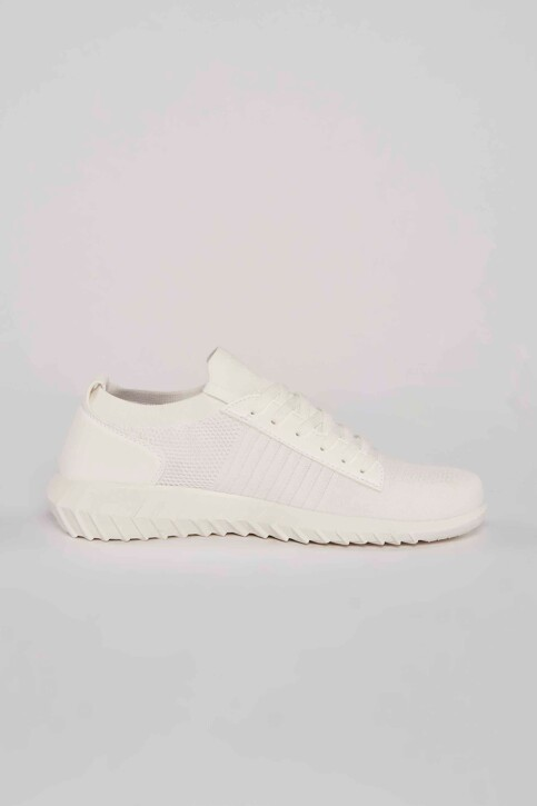 ACCESSORIES BY JACK & JONES Sneakers wit 12184246_WHITE img3